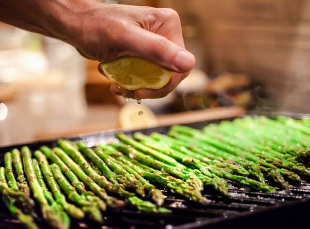 Westley on Broadway Grilling Asparagus B