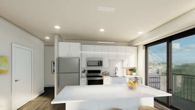 Westley on Broadway Interior Kitchen A